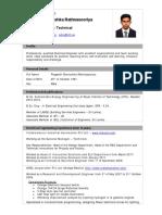 CV Rathnasooriya PD 2019