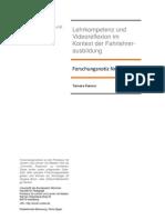 Lehrkompetenz und Videoreflexion im Kontext der Fahrlehrerausbildung (Forschungsnotiz 7)