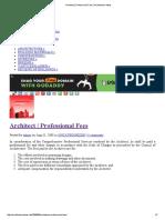 Architect _ Professional Fees _ Architecture Ideas.pdf