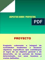 (4) ASPECTOS  SOBRE  PROYECTOS