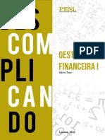 Gestão Financeira I. PESL-1