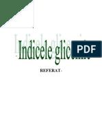 REFERAT-indice glicemic