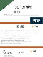 SERIES DE PUNTADAS SEGUN ISO 4915