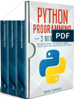Python Programming_ 3 Books in -  Ryan Turner