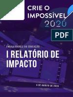 Relatório Crie o Impossível 2020