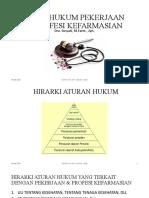 10. ASPEK HUKUM PEKERJAAN KEFARMASIAN (2)