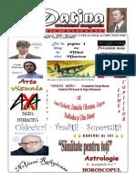 Datina - Ediție Națională - 08-09.08.2020 - prima pagină
