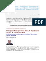GUIAS DE HTA JUNIO 2020