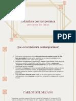 Autores Guatemaltecos en la Literatura Contemporánea by Jeff