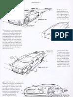 car sketching