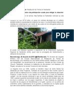 Cultura politica RESTITUCION DE TIERRAS