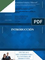 TECNICAS PARA EL CONTROL DE LA PRODUCCION.PPT.pptx