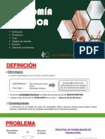 (01) NOCIONES BÁSICAS DE ECONOMIA