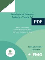 E-book - Docência e tutoria EaD