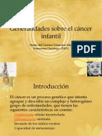 generalidades sobre cancer infantil