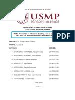 Perfil de investigación epidemiológica