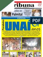 JORNAL TRIBUNA - EDIÇÃO 280- EDIÇAÕ ESPECIAL DE ANIVERSÁRIO DE 67 ANOS DE UNAÍ - JANEIRO DE 2011 - UNAÍ-MG
