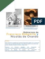 7. Gobiernos de Bobadilla y Ovando