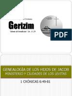 Iglesia Gerisim - Genealogía de los hijos de Jacob y las ciudades levitas.pdf