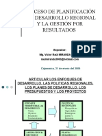INTRODUCCION-PROCESO DE PLANIFICACION Y GESTION POR RESULTADOS