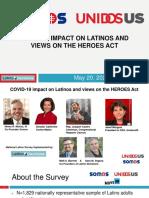 Latino COVID Survey May 20