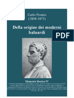 PROMIS Carlo. On the Origins of Modern Bastion. 1841
