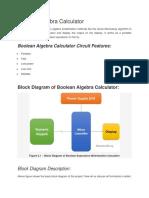 Boolean Algebra Calculator