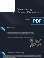weathering lession plan