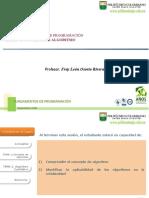 Fundamentos de Programacion - SESION 1