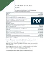 modelo de ejercicio contable conta general