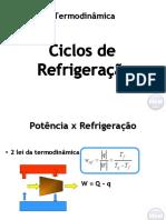 Apostila aula 08 - Ciclos de refrigeração