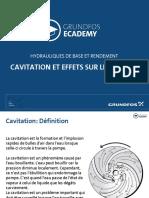 Cavitation et effets sur les pompes - Grundfos