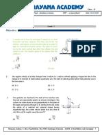 rotation revision dpp 1