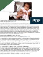 ¿Qué significa dedicarle su hijo a Dios_ _ literaturabautista.com