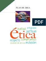 PLAN DE AREA DE ETICA 2018