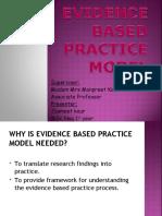 evidence based practice model.ppt