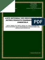 LNME Cameroun 2017 Reactifs
