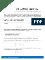 Método de Gauss
