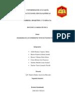 DIAGRAMA DE TEJIDOS VEGETALES