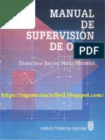 MANUAL DE SUPERVISIÓN DE OBRA-FRANCISCO JAVIER SORIA MONTIEL