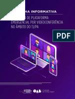 OAB-PA lança cartilha informativa sobre Audiências virtuais