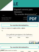 Español correcto para dummies (ORACIÓN DETERMINATIVA).pdf