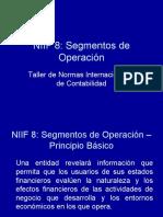 Taller de Normas Internacionales de Contabilidad - NIIF 8 Segmentos de operación