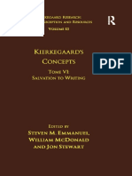 Kierkegaard-s-Concepts-Tome-VI-Salvation-to-Writing