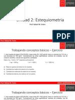 Clase 01 - Estequiometria