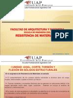 RESISTENCIA DE MATERIALES I