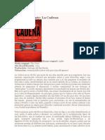 Adrian McKinty - La Cadena RESEÑA