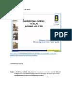 Normas APA para proyectos de  grado