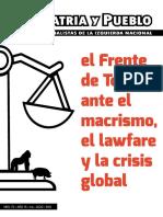 PyP nro. 72 - Prensa del partido Patria y Pueblo. Jul2020