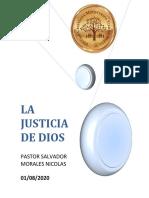 Correos electrónicos LA JUSTICIA DE DIOS